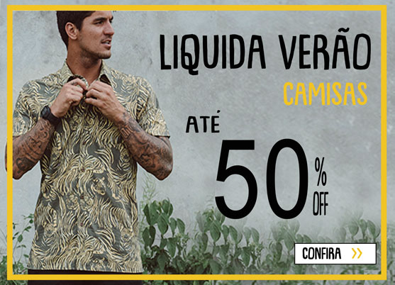 Liquida Verão 2020 - Camisas Masculinas