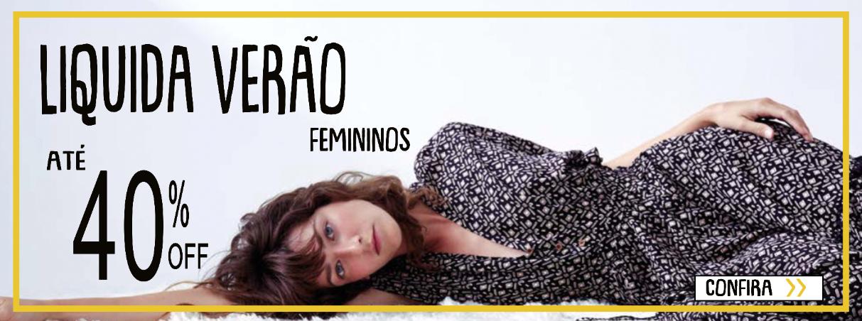 Liquida Verão 2020 - Feminino