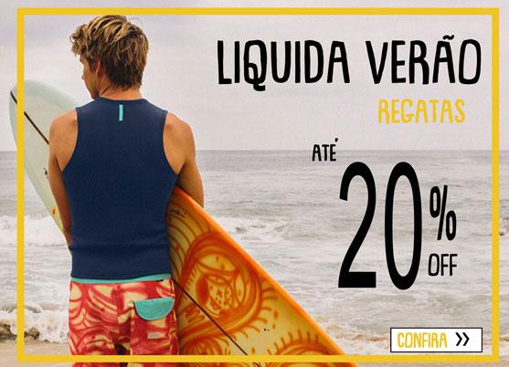 Liquida Verão 2020 - Regatas Masculinas