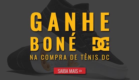 Ganhe Boné DC na compra de Tênis DC