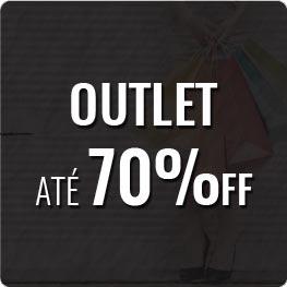 Outlet | Roupas e Acessórios com até 70% OFF