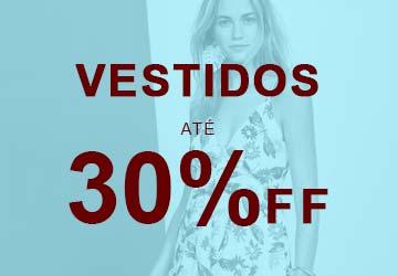Ofertas Feminino - Vestidos até 30% OFF