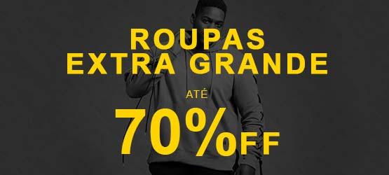 Ofertas - Roupas Extra Grande - Até 70% OFF