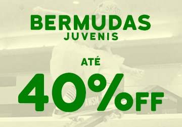Dia das Crianças - Bermudas até 50% OFF