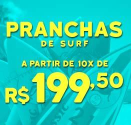 Dia das Crianças - Surf Shop - Pranchas a partir de 10x de R$ 199,50