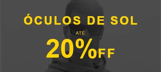 Ofertas - Óculos de Sol - Até 20% OFF