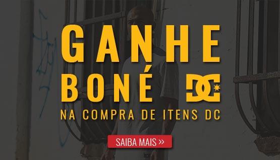 Ganhe Boné DC na compra de Roupas e Acessórios DC