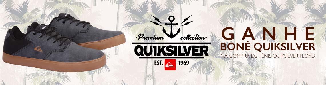 Ganhe Boné Quiksilver na compra de Tenis Quiksilver Floyd
