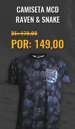 Camiseta MCD Raven & Snake
